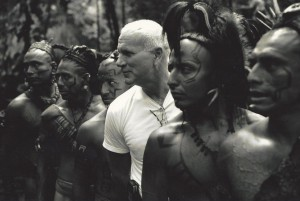 Ned with Apocalypto actors