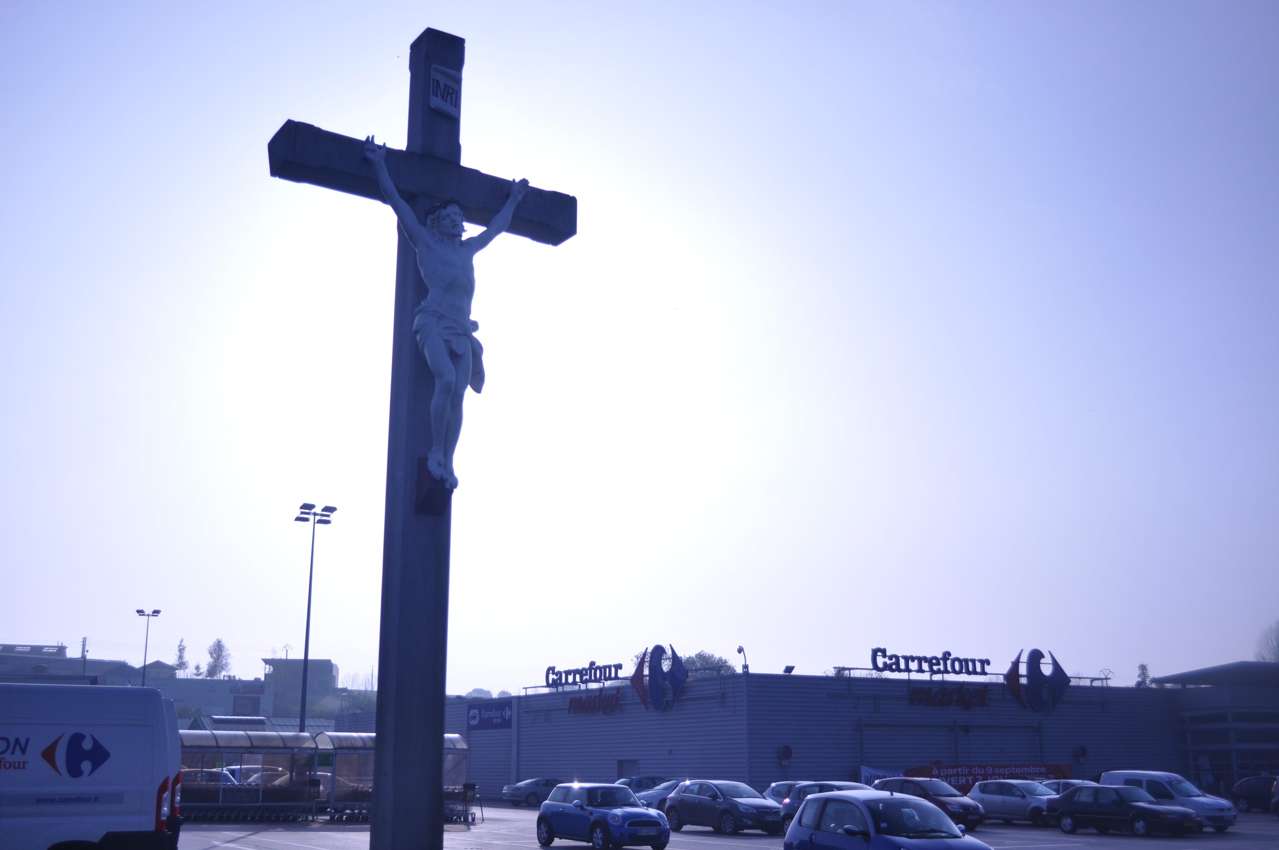 Jesus Outside Carrefour Indelible Journeys