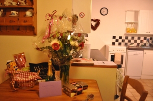 Birthday welcome at Primrose Cottage