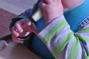 Baby self-feeding
