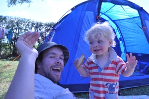 Camping - Steve and Vincent